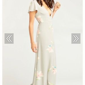Noelle Wrap Dress - Lily Showers NWT